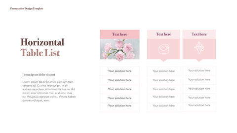 카네이션 꽃과 선물 키노트 템플릿_13