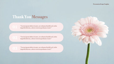 카네이션 꽃과 선물 키노트 템플릿_19