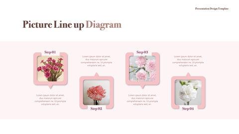 카네이션 꽃과 선물 키노트 템플릿_34