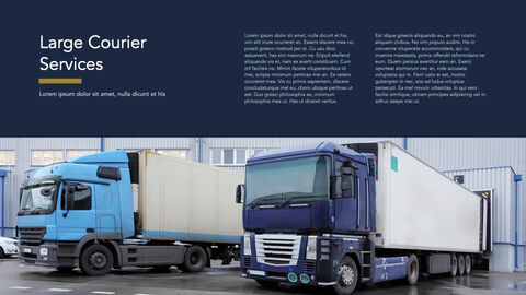 Courier Service Simple Keynote Template_02