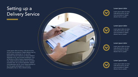 Courier Service Simple Keynote Template_05