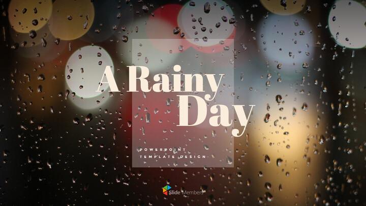 비오는 날 PPT 모델_01