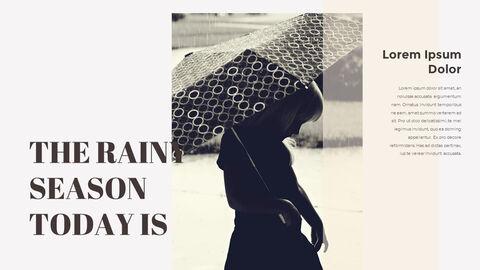 비오는 날 PPT 모델_08
