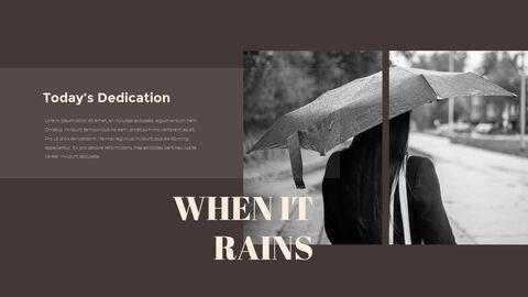 비오는 날 PPT 모델_12