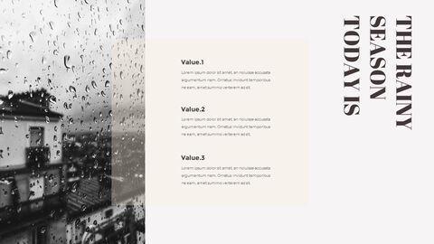 비오는 날 PPT 모델_16