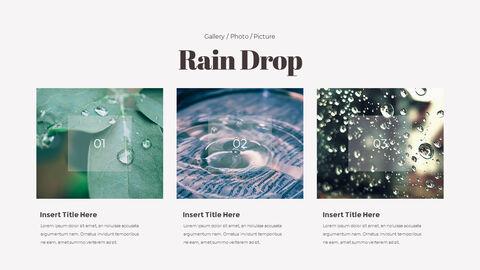 비오는 날 PPT 모델_22