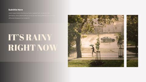 비오는 날 PPT 모델_25