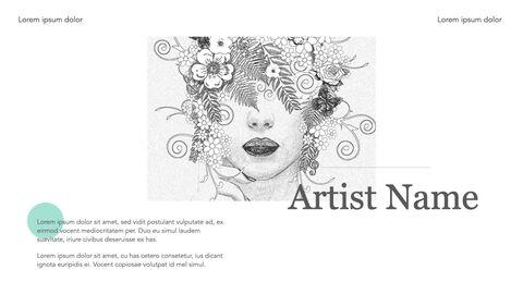 아티스트 작품 키노트의 파워포인트_05
