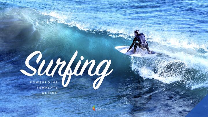 서핑 테마 키노트 디자인_01