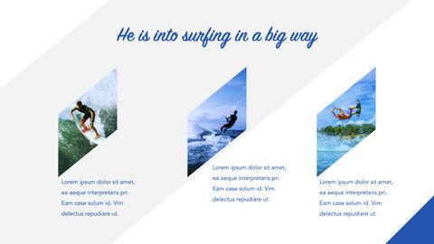 서핑 테마 키노트 디자인_03