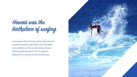 서핑 테마 키노트 디자인_06