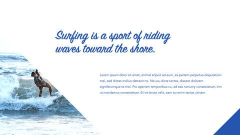 서핑 테마 키노트 디자인_04