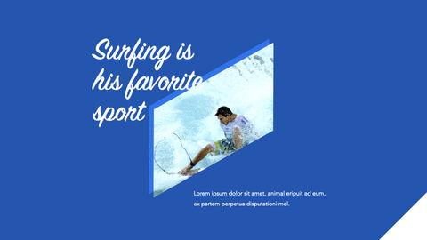 서핑 테마 키노트 디자인_05