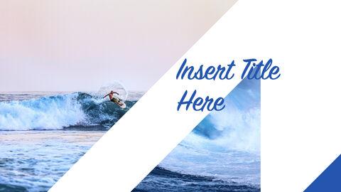 서핑 테마 키노트 디자인_11