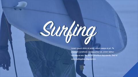 서핑 테마 키노트 디자인_17