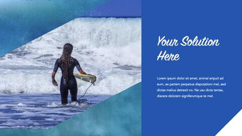 서핑 테마 키노트 디자인_24