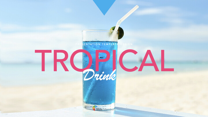 Tropical Drink Ultimate Keynote Template_01