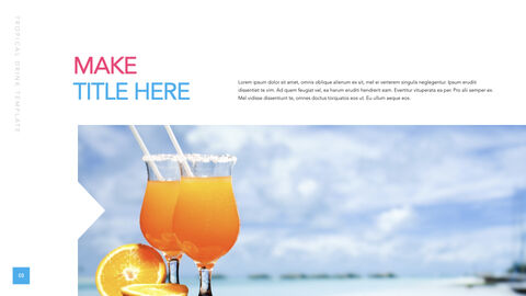 Tropical Drink Ultimate Keynote Template_02