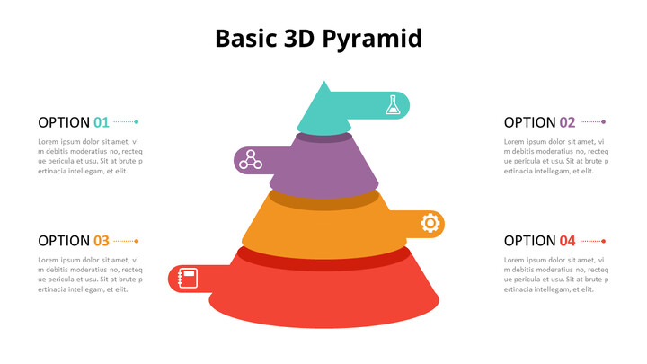 3D Cone Pyramid Chart Diagram_01