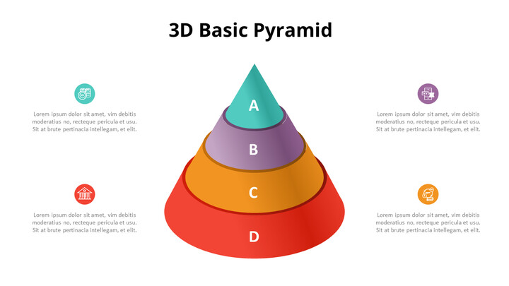 3D Cone Pyramid Chart Diagram_02