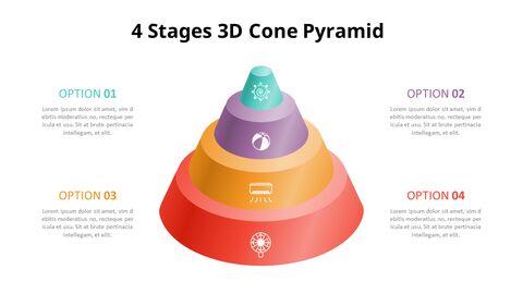 3D 콘 피라미드 차트 다이어그램_03