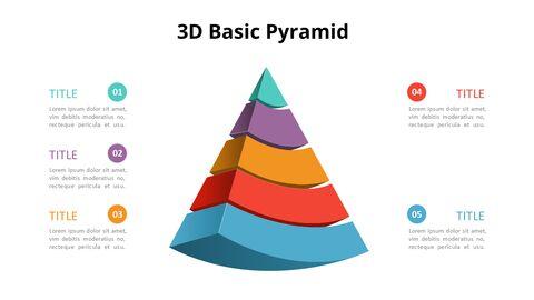 3D 콘 피라미드 차트 다이어그램_06