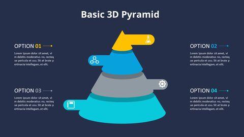 3D 콘 피라미드 차트 다이어그램_07
