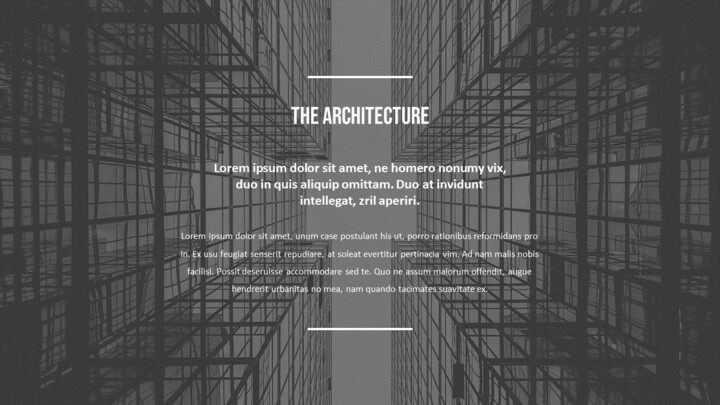 Architecture Simple PowerPoint Template Design_02