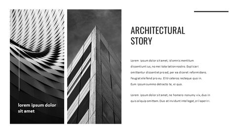 Architecture Simple PowerPoint Template Design_03