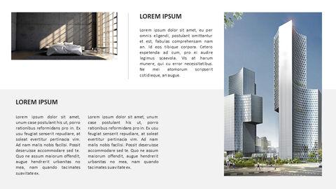 건축물 심플한 파워포인트 템플릿 디자인_13