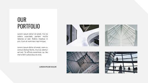 건축물 심플한 파워포인트 템플릿 디자인_22