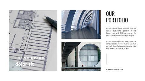 건축물 심플한 파워포인트 템플릿 디자인_23