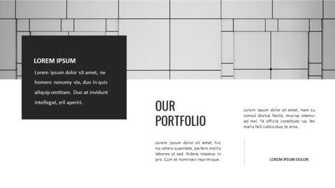 건축물 심플한 파워포인트 템플릿 디자인_25