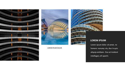 건축물 심플한 파워포인트 템플릿 디자인_27