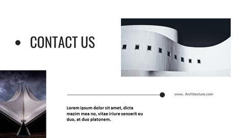 건축물 심플한 파워포인트 템플릿 디자인_29