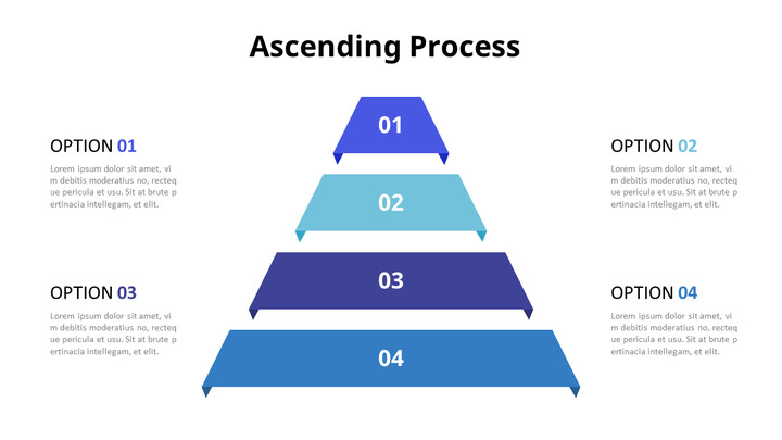 Ascending Pyramid Chart Diagram_01