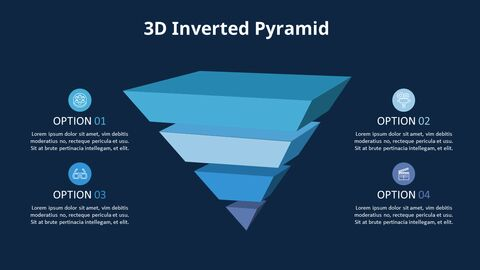 Inverted Pyramid Chart Diagram_04