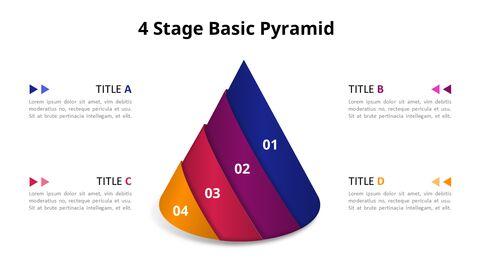 Jigsaw Puzzle Pyramid Chart Diagram_04