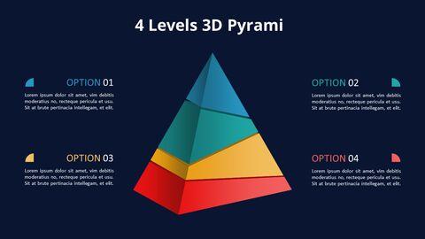 Jigsaw Puzzle Pyramid Chart Diagram_09