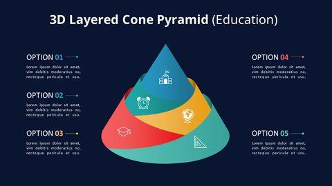 Jigsaw Puzzle Pyramid Chart Diagram_11
