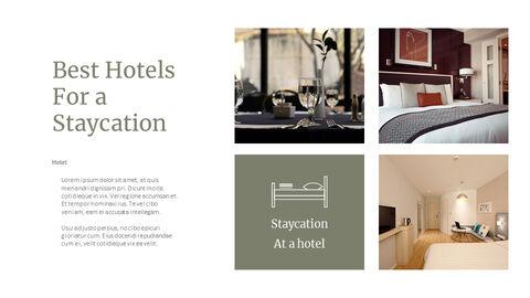 호텔에서의 숙박 PPT 비즈니스_24