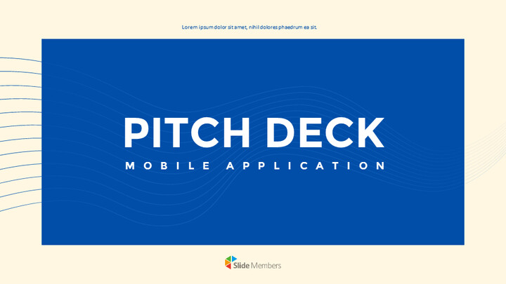Application Pitch Deck Design Google Slides Presentation_01