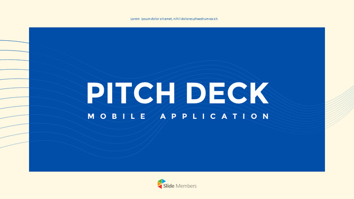 Application Pitch Deck Design Marketing Presentation PPT_01