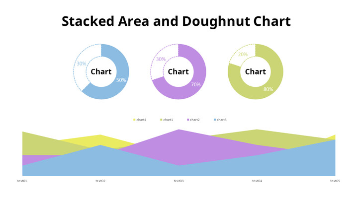Area and Doughnut Mix Chart_02