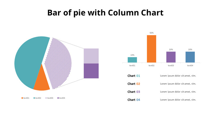 Bar of Pie Combination Chart_01