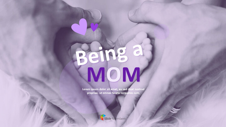 Being a Mom PowerPoint Business Templates_01