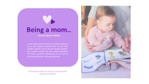 Being a Mom PowerPoint Business Templates_02