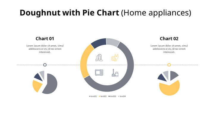 Doughnut with Pie Mix Chart_01