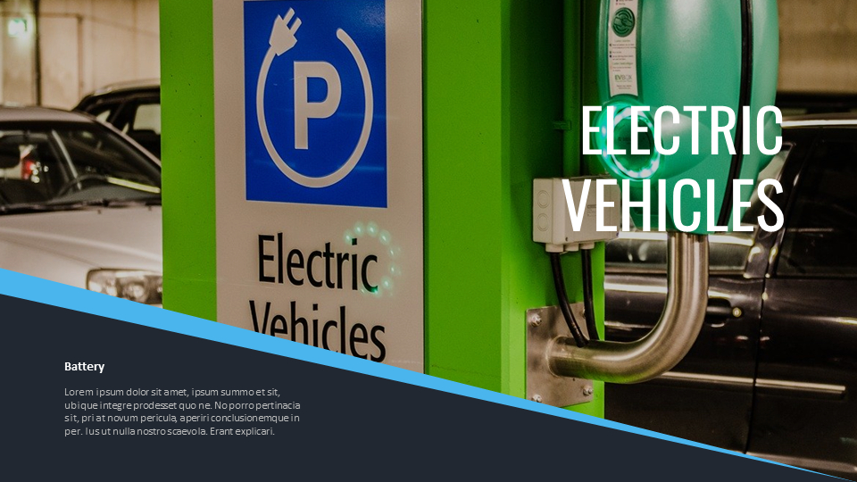 Electric Vehicles Startup Ppt Templates