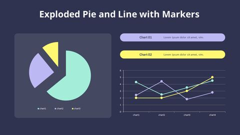 Exploded Pie and Line Chart_03